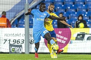 Al-Hadji Kamara  (Randers FC), Kevin Mensah  (Br�ndby IF)