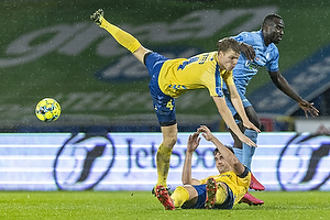 Sigurd Rosted  (Br�ndby IF)m Al-Hadji Kamara  (Randers FC), Andreas Maxs�  (Br�ndby IF)