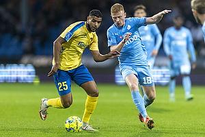 Anis Slimane  (Br�ndby IF), Tobias Klysner  (Randers FC)