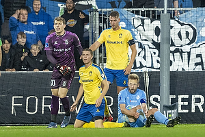 Mads Hermansen  (Br�ndby IF), Andreas Maxs�, anf�rer  (Br�ndby IF), Bj�rn Kopplin  (Randers FC)