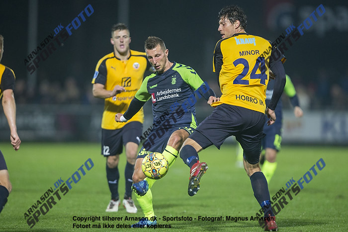 Kamil Wilczek (Br�ndby IF), Rasmus Minor Petersen (Hobro IK)