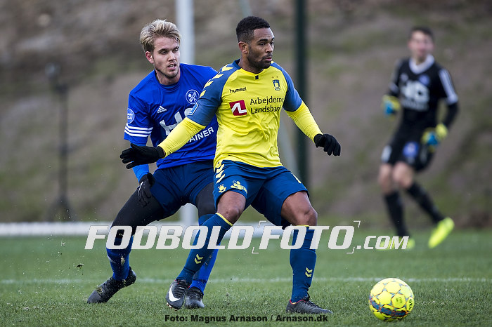 Kevin Mensah (Br�ndby IF), Uidentificeret person (Fremad Amager)