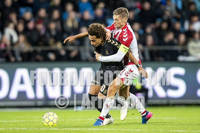 Hany Mukhtar (Br�ndby IF), Kasper Risg�rd, anf�rer (Aab)