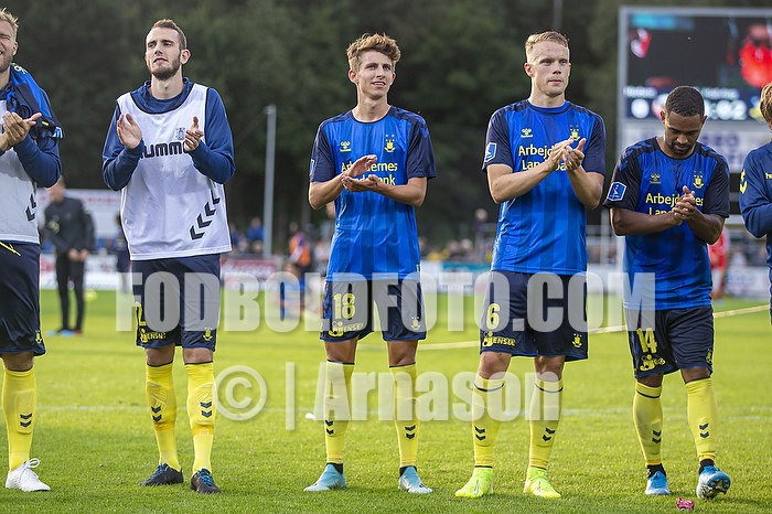 Jens Martin Gammelby (Br�ndby IF), Jesper Lindstr�m (Br�ndby IF), Hj�rtur Hermannsson (Br�ndby IF), Kevin Mensah (Br�ndby IF)