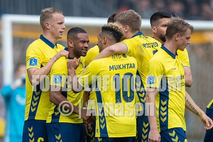 Kevin Mensah (Br�ndby IF), Hany Mukhtar (Br�ndby IF), Hj�rtur Hermannsson (Br�ndby IF)